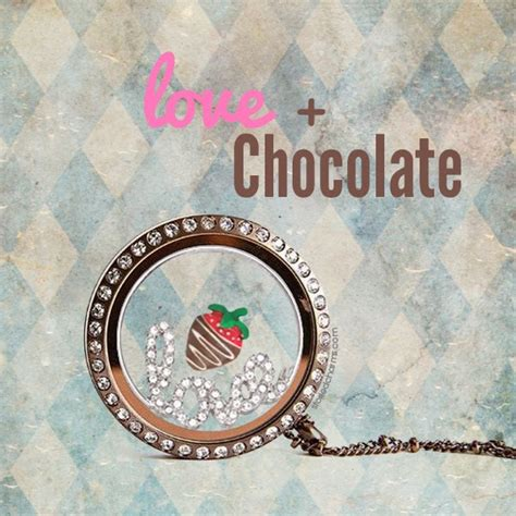 Chocolate Origami Owl Locket - origami owl at storied charms january 2014