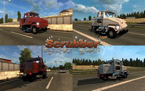 Saints Row 3 Auto Tuning by Auto Scrubber In Traffic Ets 2 Mods Euro Truck
