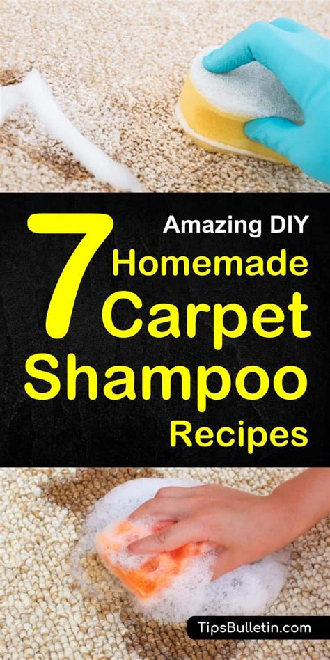 7 Recipes For Cleaners by Carpet Shoo For Cleaner Home The Honoroak