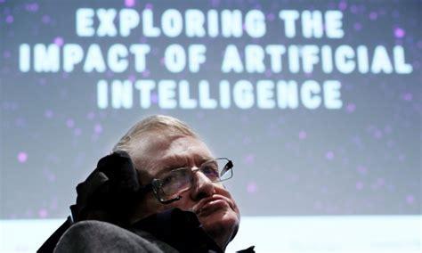 Intelligence Stephen Hawking hawking quot conflit quot avec la volont 233 de l intelligence