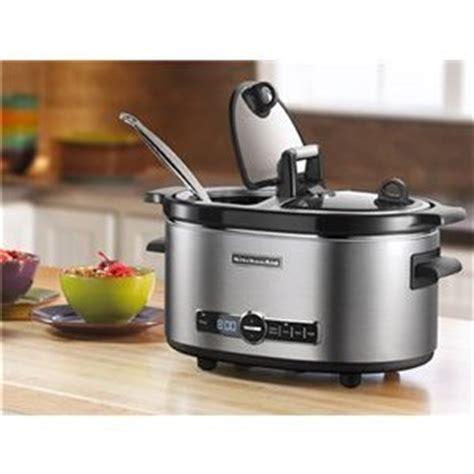Kitchenaid Cooker Reviews by Kitchenaid Stainless Steel Qt Cooker With Flip Lid