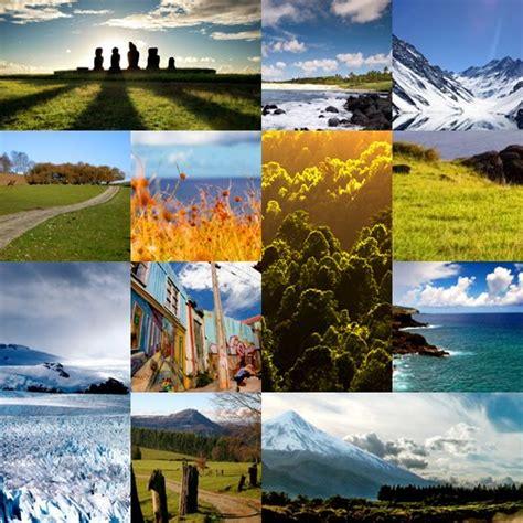 imagenes de las zonas naturales de chile sexto historia y geografia imagenes de las zonas