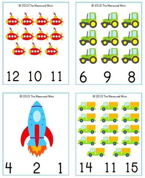 printable number cards preschool free transportation printable transportation count clip