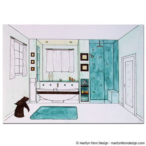 bathroom drawings home design idea bathroom designs drawings