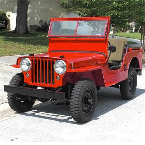 Jeep Cj History Cj Wrangler Jon S World Of Jeep History