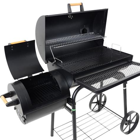 wooden smoker search gotowanie smokehouse and grills barrel smoker charcoal wood garden bbq barbecue outdoor grill
