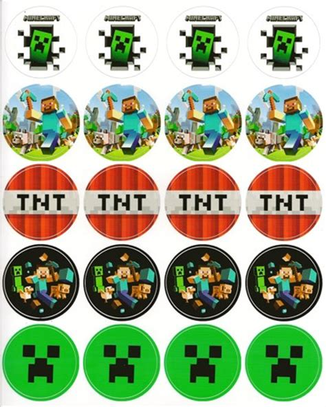 printable minecraft stickers 5 best images of free printable minecraft stickers