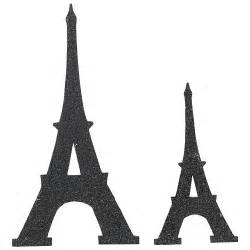 black eiffel tower cutouts black glitter eiffel tower cutouts