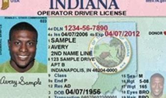 indiana id card template bmv says prove it or lose it indianapolis recorder