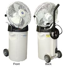 portable misting fans with tank misting fans ameritemp group