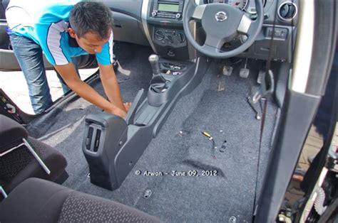 Jual Karpet Mobil Nissan March 120609 si hitam grand livina pasang pelapis jok dan