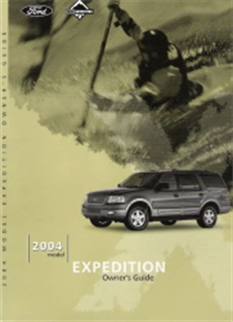 2004 ford expedition owners manual with case