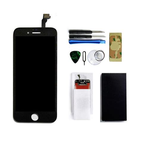 Lcd Touchscreen Iphone 6 oem black lcd display touch screen digitizer for iphone 6