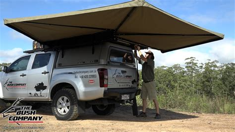 vehicle awnings south africa 270 degree gull wing awning review the bush company