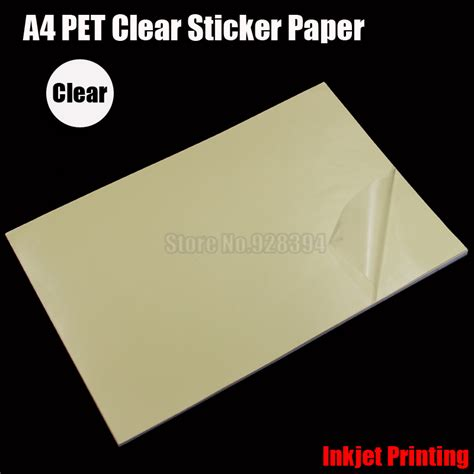 printable sticker paper waterproof online buy wholesale inkjet printer film from china inkjet