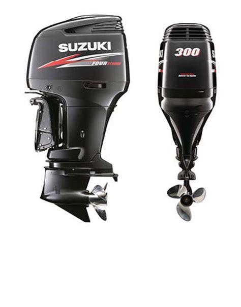Suzuki Outboard Propellers Large Outboard Motors Part I The Suzuki Df300ap Boat
