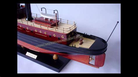 boat r brooklyn brooklyn tug boat wood youtube