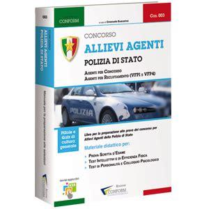 test intellettivi libro concorso allievi agenti polizia di stato