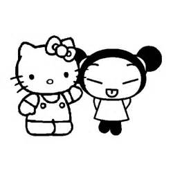 Coloriage Hello Kitty Et Pucca A Imprimer Coloriage Hello Kitty Noel Imprimer Gratuit Voir Le Dessin L