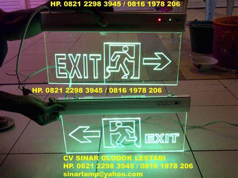 Lu Darurat Emergency Led Tl Merk In Lite T8 18 Watt Cahaya Warm lu emergency exit results from 96
