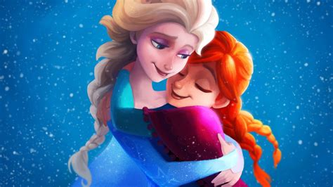 frozen live wallpaper hd frozen sisters elsa anna 4k wallpapers hd wallpapers