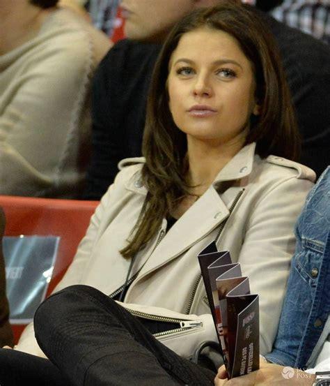 anna lewandowska przed i teraz anna i robert lewandowscy na meczu koszyk 243 wki przed