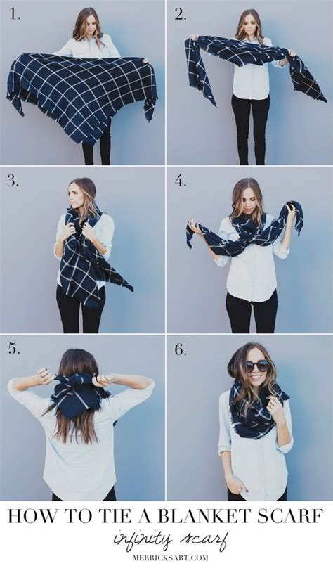 how to make a scarf into an infinity scarf 13 ways to wear your blanket scarf pretty designs