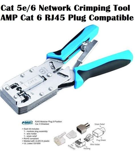 Crimping Tools Cat6 Original superbuy network crimping tool compatible cat6 rj45