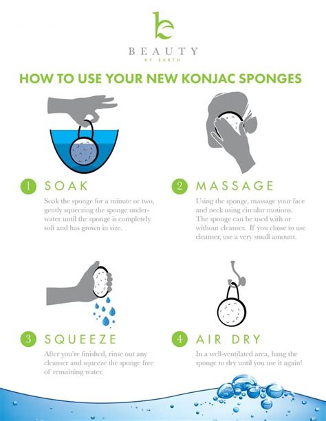 how do you use konjac sponges who else wants a beautiful complexion