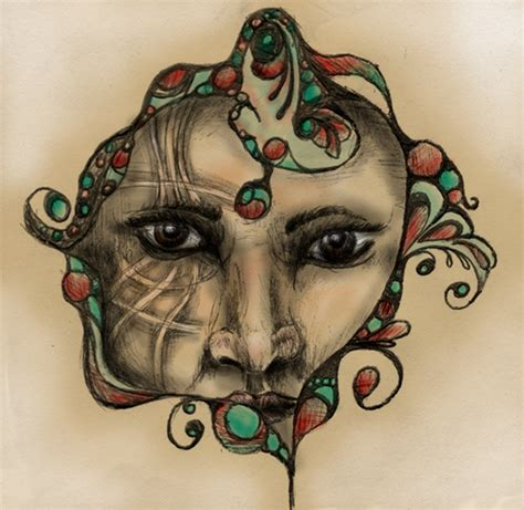 void tattoo design design see my void by rubber bullet kisses on