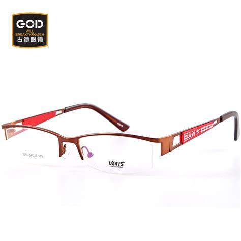 Frame Levis Eyewear Kacamata Levis Frame Minus Frame Lev Adpm levis levi s glasses frame myopia and brow line and a half framed glasses frame influx of