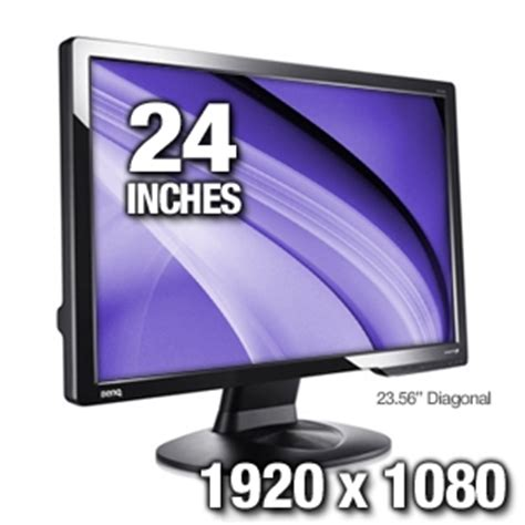 Monitor Lcd Benq G610hdal benq g2412hd 24 widescreen lcd monitor 2ms 1920x1080