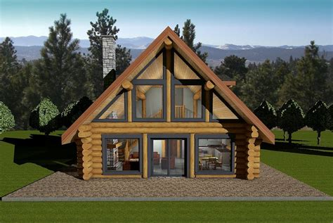horseshoe bay log house plans log cabin bc canada