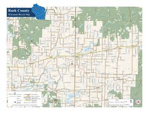 rusk county bike map maplets