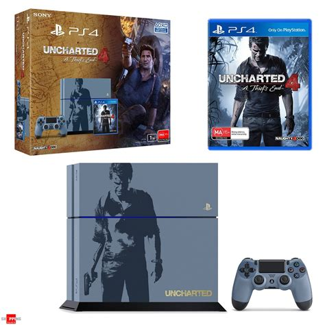 Ps4 R2 Uncharted 4 Limited playstation 4 1tb console uncharted 4 limited edition bundle shopping shopping square
