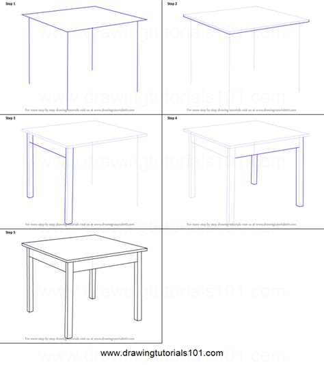 how to draw a table how to draw a table printable by drawing sheet