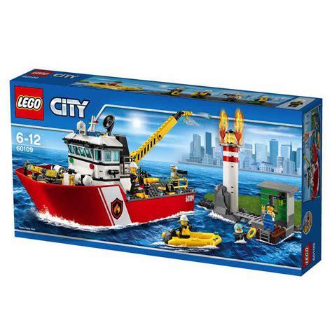 lego friends boat uk www onetwobrick net set database lego 60109 fire boat