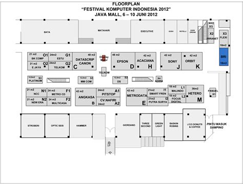 java layout conventions floorplan festival komputer indonesia fki 2012 jagat