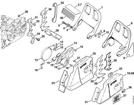 stihl 039 chainsaw parts diagram stihl ms parts diagram stihl ms chainsaw parts diagram