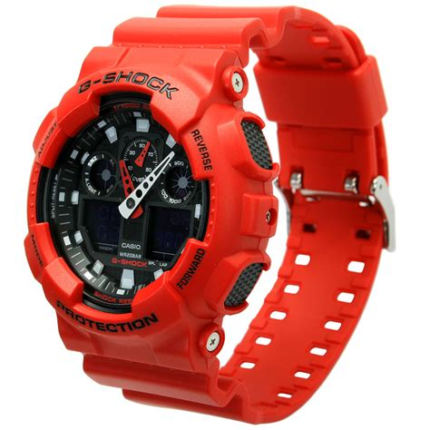 Casio G Shock Ga 110rd 4adr Water Resistance 200m Original casio g shock ga 100b 4aer anti magnetic resist