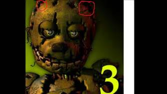 Five nights at freddy s 3 theory springtrap s brain is the puppets