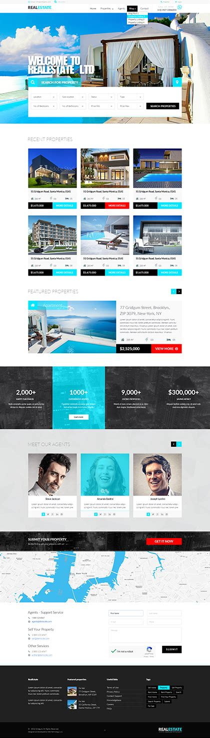 bootstrap templates for property responsive bootstrap templates premium bootstrap themes