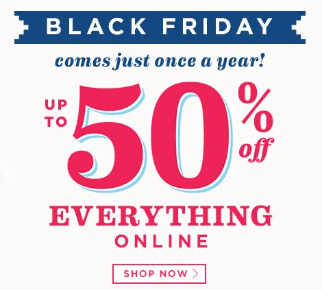 old navy coupons black friday save 50 off everything at old navy with their black