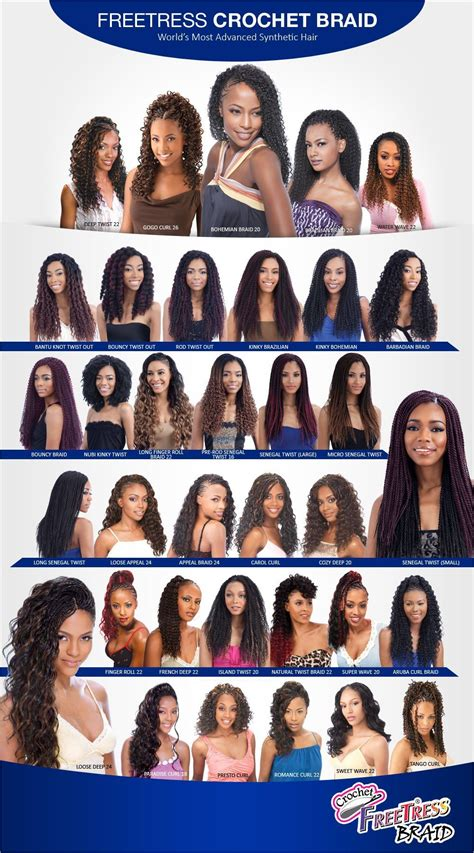 types of freetress braid hair stunning alileader kanekalon synthetic hair brands for
