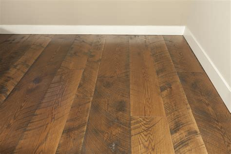 why choose handscraped distressed wide plank floors