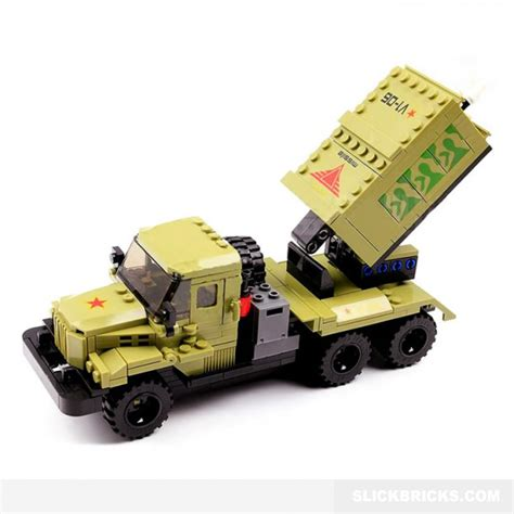 Emco Brick Army Missile Truck rocket launcher truck slick bricks