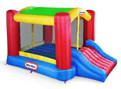 little tikes inflatable bounce house little tikes shady jump n slide bouncer review