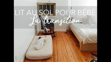 lit au sol pour b 201 b 201 la transition montessori
