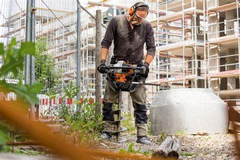 Mesin Bor Stihl Bt 45 stihl bt 131 professionelt en mands jordbor med 4 mix motor