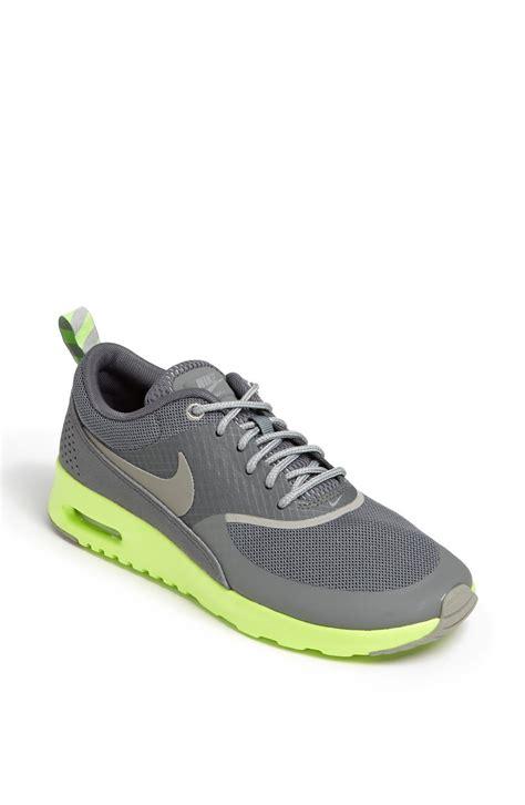 air max thea sneaker nike air max thea sneaker in yellow mercury grey flash